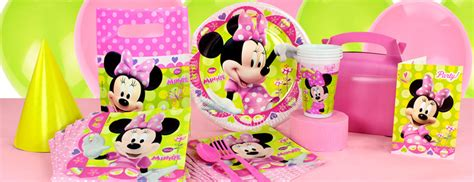 disney minnie mouse bow tique party supplies party delights