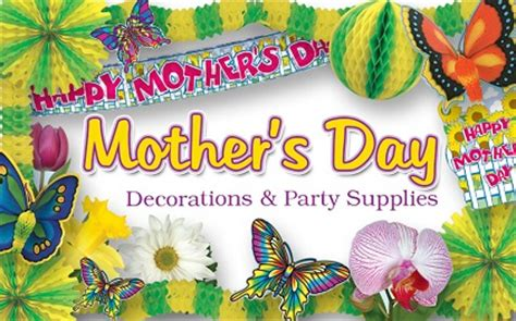 mothers day decorations party supplies partycheap