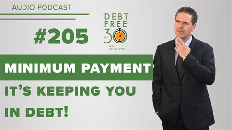 Using a credit card over debit cards and cash can often be advantageous. Minimum Payments on Credit Cards are Keeping You in Debt - YouTube