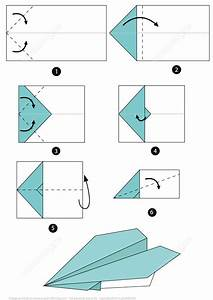 Origami Airplane Instructions Free Printable Papercraft