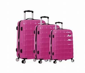 Lot D Assiette Pas Cher : lot de 3 valises rigides 4 roues pas cher snowball ensemble de bagages ~ Melissatoandfro.com Idées de Décoration