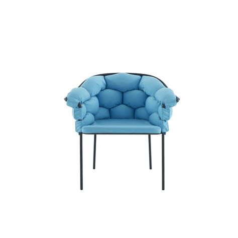 chaise cinna bubbly weaved cushion chairs cushioned chair