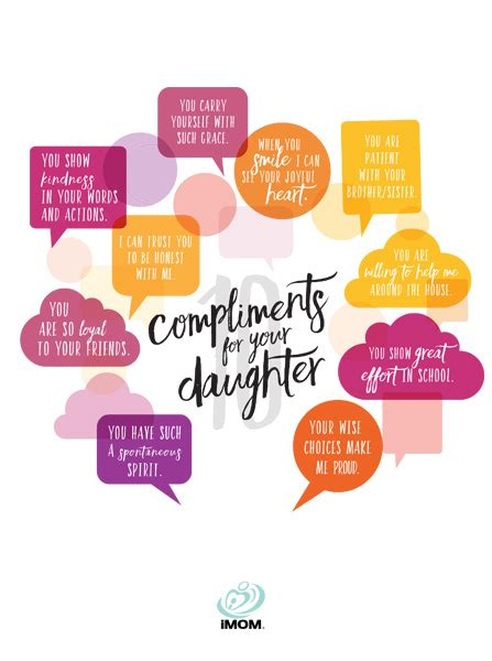 compliments   daughter imom