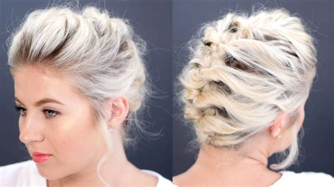 check    exquisite fun updos  short hair