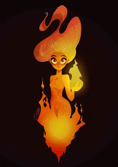 Anime Monster Drawing Element Character Characters Fire