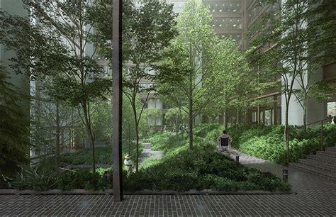 ford foundations  atrium garden