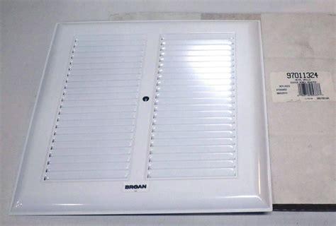 broan bath bathroom ceiling fan grille grill cover metal