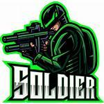 Soldier Gaming Mascot Esport Thehungryjpeg