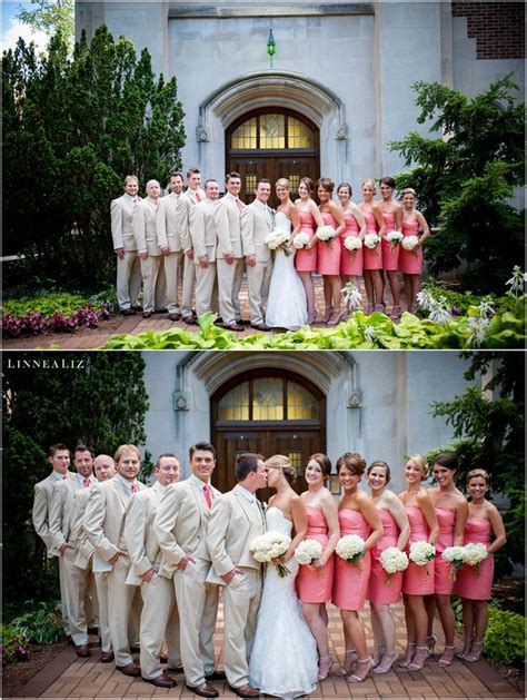 Michigan State University Beaumont Tower Bridal Party