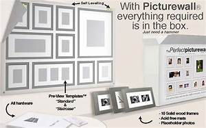 this is brilliant picture wall template decor home With picture hanging template kit