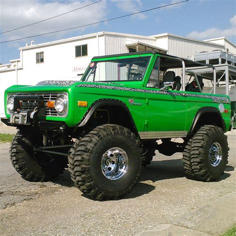 ford bronco jeep kevin safarik his 71 ford ford bronco ford and 4x4
