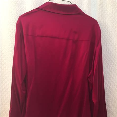 fuschia blouse 80 talbots tops talbots stretch silk fuschia blouse