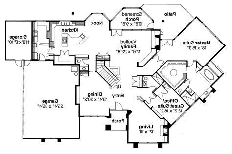 Mediterranean House Floor Plans by Mediterranean House Plans Rochester 10 353 Associated