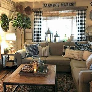 8, Best, Small, Farmhouse, Living, Room, Design, Ideas, You, Must