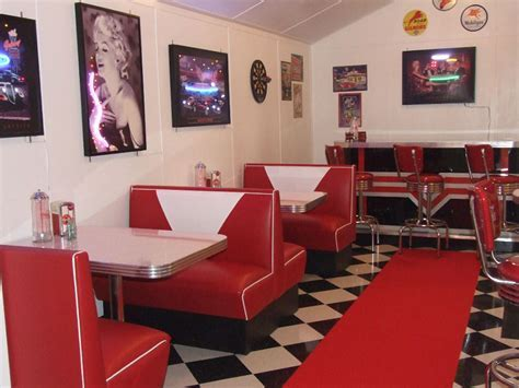Retro Diner Decorations   Home Decorating Ideas
