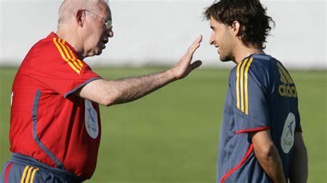 Selección Española De Fútbol El Pulso Con Luis Aragonés