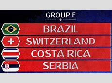 Group E No easy task for fivetime champions FIFAcom