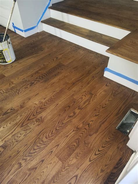 provincial stain red oak floors  images red oak