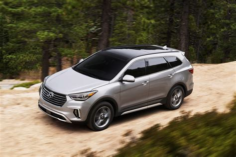 Hyndai Santa Fe by Hyundai Reveals Updated 2017 Santa Fe Santa Fe Sport In