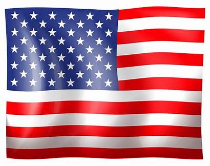 Flag Clipart American Usa Resolution Clipground Side