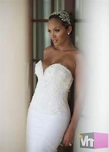 stylin on you wedding hoes evelyn lozada chad With evelyn lozada wedding dress