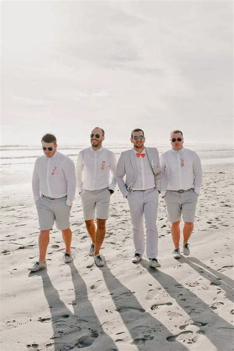 beach wedding groom attire ideas mens wedding style