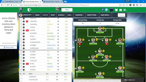 Soccer Manager Best Tactics best sm tactic tactical help soccer manager worlds forum