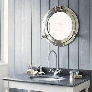 Maison Du Monde Miroir Industriel : miroir hublot en m tal h 51 cm navy maisons du monde ~ Teatrodelosmanantiales.com Idées de Décoration