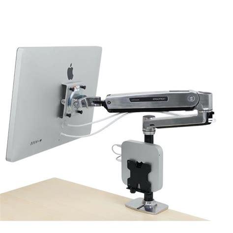 desk mount monitor arm imac sit stand desk monitor arm ergotron 45 384 026
