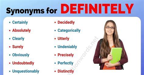 synonym list   synonyms