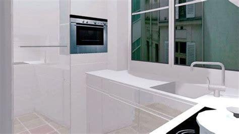 salle de bain avec meuble de cuisine cuisine 4m2 ouverte top cuisine