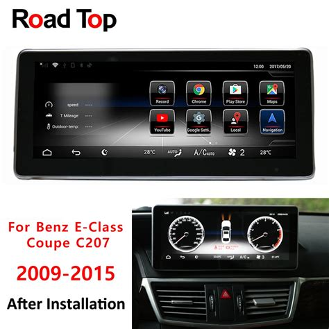 """The phone list on your mercedes screen will list your phone number when the sync is. 10.25"""" Android 7.1 Car Radio Bluetooth GPS Navigation Head Unit Screen for Mercedes Benz 2009 ..."""