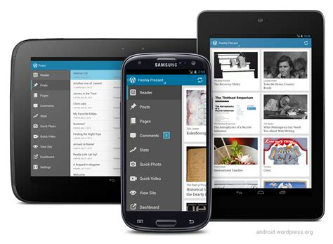 The Wordpress For Android App Gets A Big Facelift — The