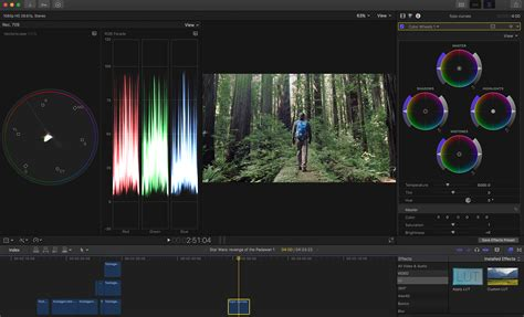 fcpx  color grading tools   game changer