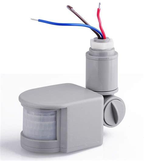 rf 12m gray led security pir infrared motion sensor for