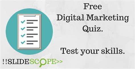 free digital marketing free digital marketing quiz social media quiz search