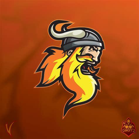viking esports logo sold  behance