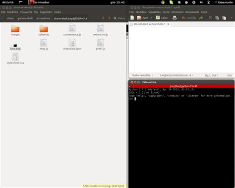 Tiling Window Manager Vs Desktop Environment by Tiling Window Manager Functionality For Normal Linux