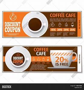 Coffee Discount Coupon Gift Vector & Photo   Bigstock