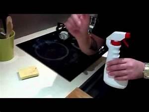 Nettoyer Une Plaque Vitrocéramique : nettoyage de plaque de cuisson youtube ~ Melissatoandfro.com Idées de Décoration