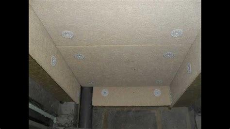 plaque isolation thermique plafond isolation du planfond d un garage