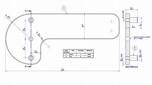 Center square and center line finder