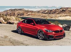 Ferrada Red Matte BMW M4 5K Wallpaper HD Car Wallpapers
