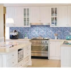 kitchen wall backsplash panels grey marble blue glass mosaic tiles backsplash kitchen wall tile fanabis