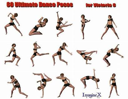 Poses Dance Victoria Ultimate Daz 3d Models