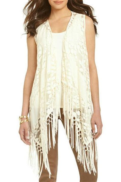 ali miles cream lace vest glitz glam boutique glitz