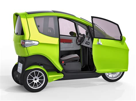 Synergethic's 3-wheeled Tilter Electric Vehicle Is Part