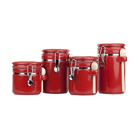 Ceramic Canister Sets For Kitchen by Ceramic Kitchen Canister Sets