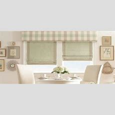 European Style Roman Shades For A Traditional Look