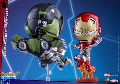 Spider Toys Cosbaby Homecoming Vulture Iron Figures